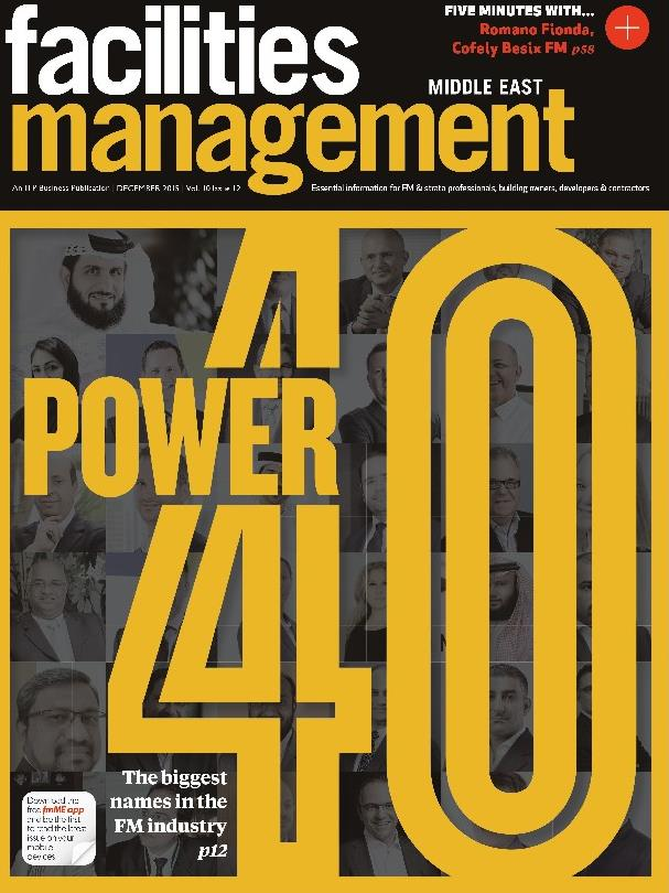 FM Middle East 2015 Power List front cover