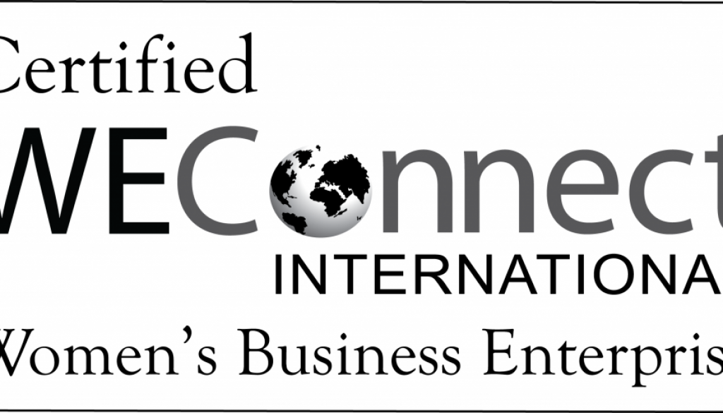 WEConnect International Official Certification Stamp - opaque