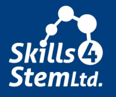 00235_Skills4StemLtd_Blue_Sq_Col_Reversed